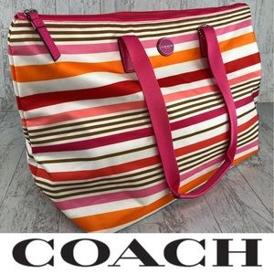 Coach Getaway Weekender Packable Tote Bag NEW